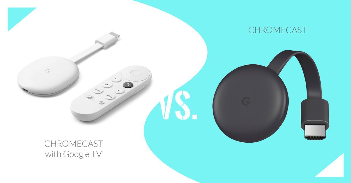 Chromecast و Chromecast با Google TV